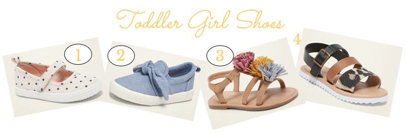 Toddler Girl Slip Ons, Sneakers, and Sandals for Spring 2020